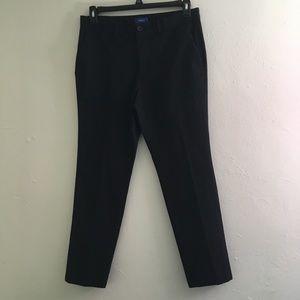 Men's Apt 9 Black skinny legged dress pants